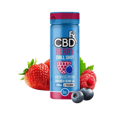 Berry CBD Chill Shot – 20mg
