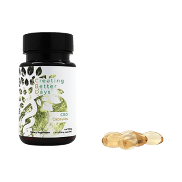 Creating Better Days CBD Capsules (750 mg)