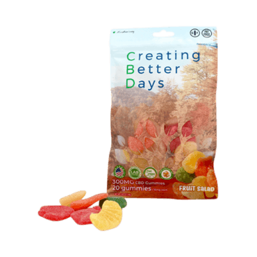 Creating Better Days Nano-CBD Gummies Cherry Bomb