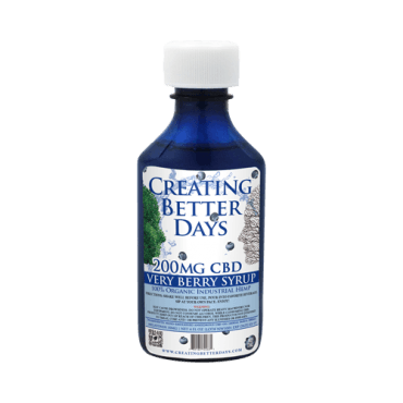 Creating Better Days Nano-CBD Blueberry Melatonin Syrup 200mg