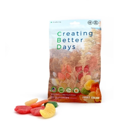 Creating Better Days Nano-CBD Gummies Fruit Salad