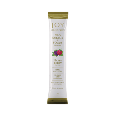 Joy Organics CBD Energy Drink Mix (5 Packets)