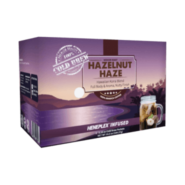 Isodiol Pot-O-Coffee Hazelnut Haze – Cold Brew