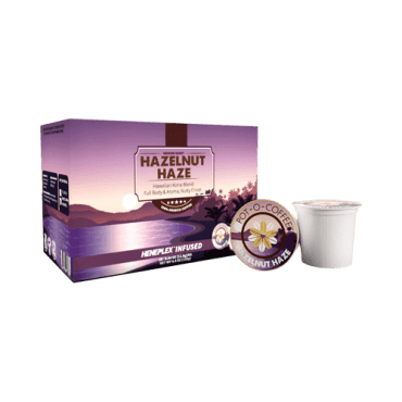 Isodiol Pot-O-Coffee Hazelnut Haze – K-Cup