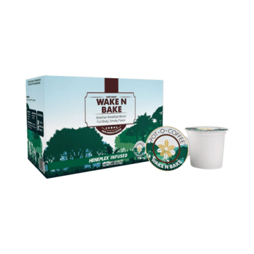 Isodiol Pot-O-Coffee Wake N Bake – K-Cup