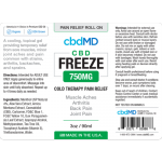 CBD Freeze Pain Relief 3oz Roller