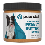 PAW CBD Infused Peanut Butter